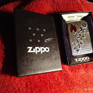 Zippo Lighter Armour Case Bolted for Sale in Chicago, IL