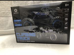 Braha blue monster truck with remote control. for Sale in Coral Gables, FL