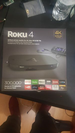 Roku 4 used good condition for Sale in Sterling, VA