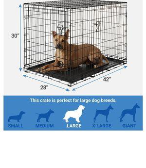 Frisco 2 door 42 inch dog crate for Sale in Pompano Beach, FL