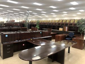 Huge office furniture liquidation! Chairs, desks, files, tables, and more for Sale in Columbus, OH