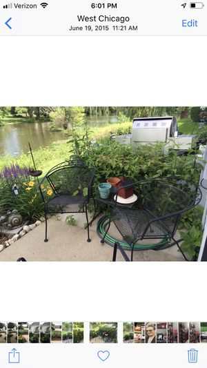 6 piece patio furniture for Sale in West Chicago, IL
