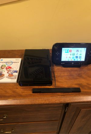 Wii U console with two games for Sale in FX STATION, VA