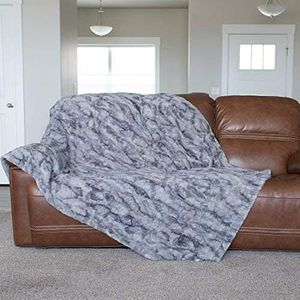 "GRACED SOFT LUXURIES Oversized Softest Warm Elegant Cozy Faux Fur Home Throw Blanket 60"" x 80"" for Sale in Miami Beach, FL"