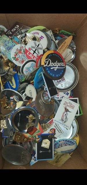 Over 100 pins, Dinsey. Universal, Dodgers, Angel's etc. for Sale in Long Beach, CA