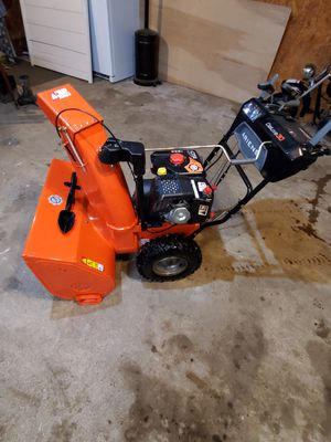 Ariens 30 inch deluxe snowblower like new used once for Sale in North East, PA
