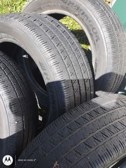 4 new tires 80%thread 235 55 18 for Sale in Valley Grande,  AL