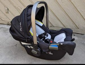 Nuna Pipa Car Seat with Base and Mixx Stroller for Sale in Seattle, WA