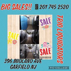 Refrigerators BIG SALES !! for Sale in Garfield, NJ