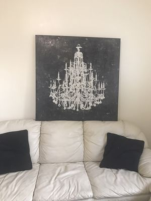 Chandelier Canvas painting for Sale in Downey, CA
