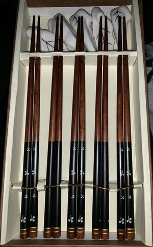 Chopstick Set Of 5 for Sale in Rumford, ME