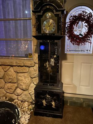 Beautiful Asian grandfather clock for Sale in Clearwater, FL
