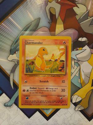 Original Base Set Charmander Pokemon Card for Sale in Puyallup, WA