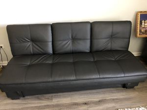 Serta leather futon for Sale in Grayslake, IL