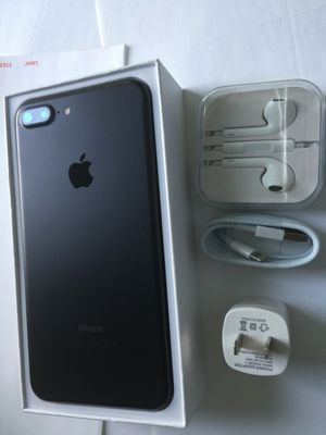 iPhone 7 plus (7+) - excellent condition, factory unlocked, clean IMEI for Sale in Springfield, VA