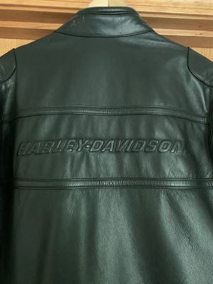 Leather Harley Davidson Motorcycle jacket with liner!! $350 for Sale in Pasadena, CA