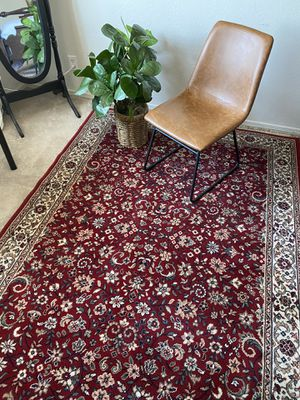 Beautiful Thick Red Burgundy Area Rug 5.5 x 8 for Sale in Mesa, AZ