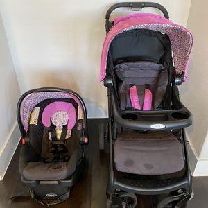 Graco Travel System - Stroller and Infant Car Seat for Sale in Austin, TX