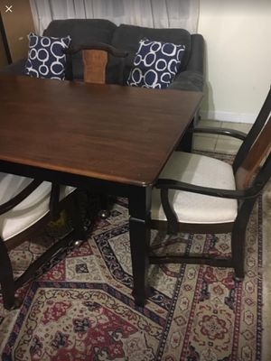 Antique 4 chairs with table for Sale in Germantown, MD