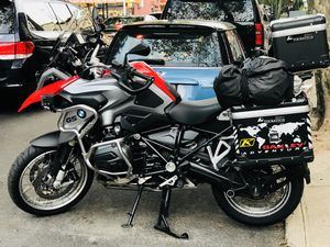 Red bmw r1200gs, r 1200 gs fully equipt with touratech accesories for Sale for sale  Queens, NY
