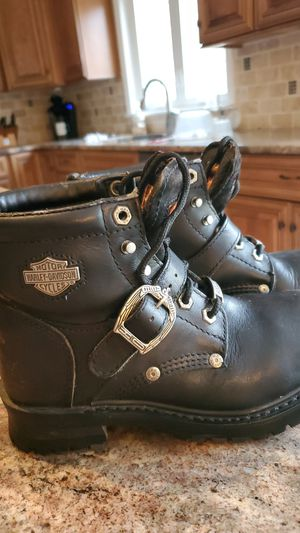 Women's size 6.5 Harley Davidson boots for Sale in Glen Mills, PA