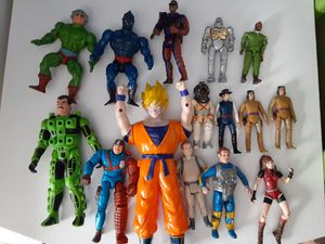 Vintage Action Figures, prices vary for Sale in Herndon, VA