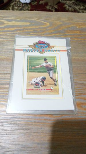Baseball card- cal ripken jr master photo for Sale in West Stayton, OR