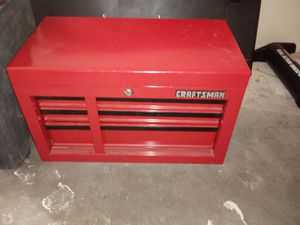 New craftsman tool box with keys had it sold but the guy didn't show up so im putting it back up for Sale in Mesa, AZ