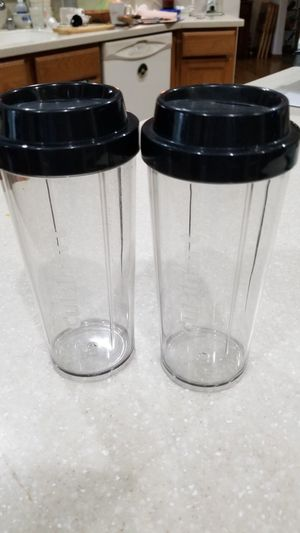 2 smoothie cups -Cuisinart for Sale in Tenino, WA