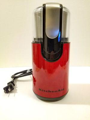 KitchenAid® Blade Coffee Grinder, BCG111 -Empire Red for Sale in Arlington, VA