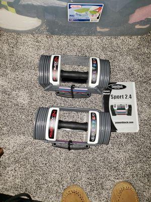 Powerblock 24lbs set NEW! for Sale in Pickerington, OH