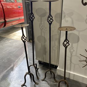 Steel Candle Holder Steel Plant Holder for Sale in Miami, FL