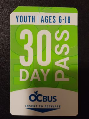 Brand new youth bus pass for Sale in Anaheim, CA