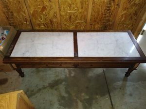 Antique marble coffee table for Sale in Cleveland, OH