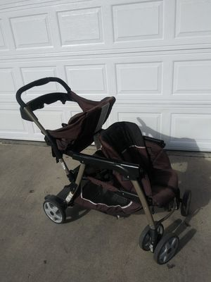 Double Stroller with car seat for Sale in South Gate, CA