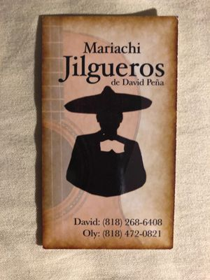 Mariachi Card for Sale in Los Angeles, CA