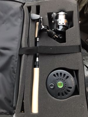 NEW fly fishing and spinning wheel combo for Sale in Lexington, VA