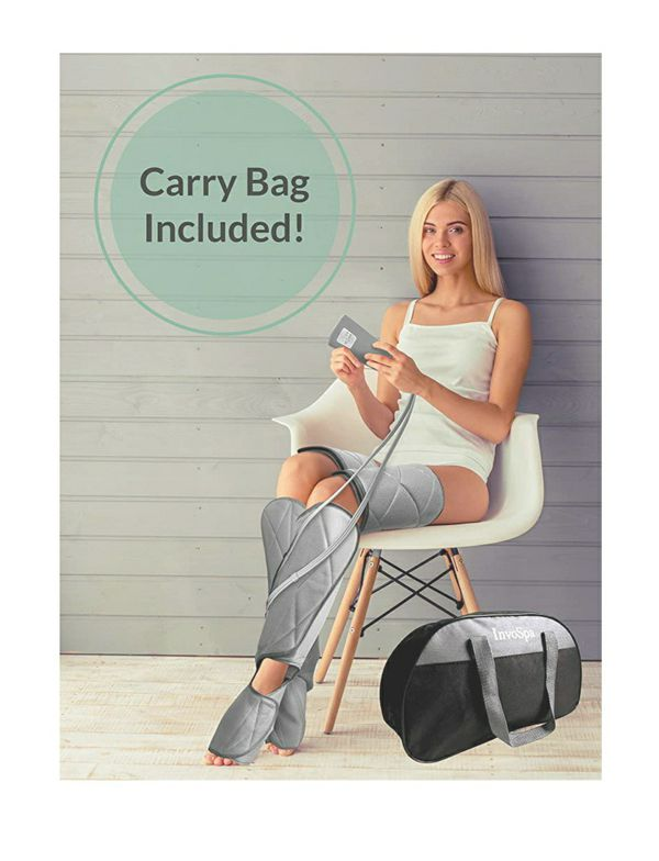 invospa air compression leg massager