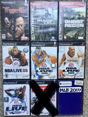 PS2 ~ PlayStation 2 Bundle / Lot of 8 Games ~ Check out my Page 😊 for Sale in Fresno, CA