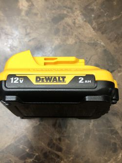 DEWALT 12-Volt Max 2 Amp-Hour Lithium Power Tool Battery for Sale in Portland,  OR