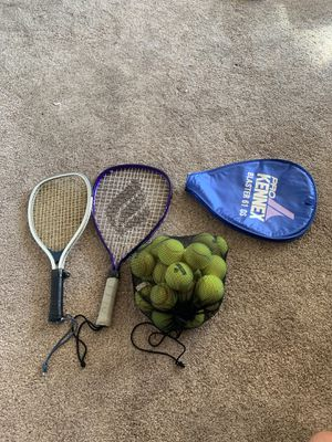 Two tennis rackets & bag of tennis balls. for Sale in Phoenix, AZ
