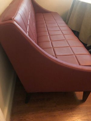 Custom leather couch for Sale in Charlotte, NC