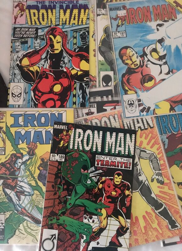 Collection of 15 Iron Man Comics 80s Marvel