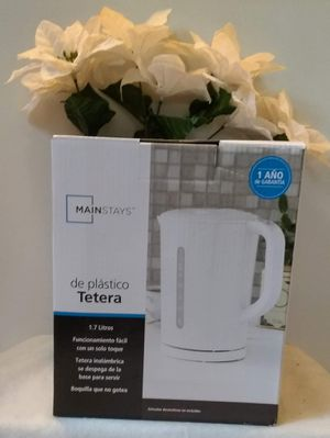 Mainstays Plastic Kettle (New) for Sale in Washington, DC