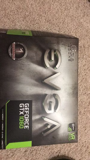 EVGA GTX 1060 6GB Graphics Card for Sale in Warren, MI