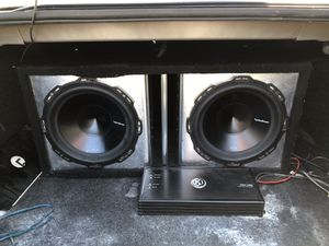 2 12 subs for Sale in Austin, TX