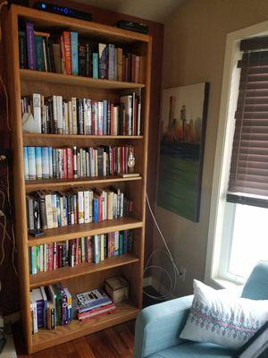 3 solid oak bookshelves for Sale in Seattle, WA