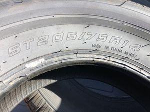 Trailer tires ST205/75 R14 for Sale in Dallas, TX