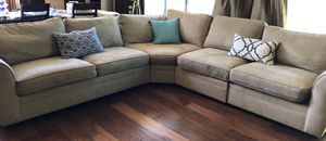 Pottery Barn Sectional Couch (priced to move) for Sale in Morgan Hill, CA