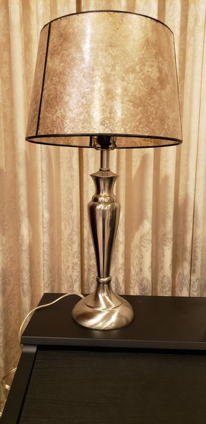 Nightstand Lamp with Shade for Sale in Dearborn, MI
